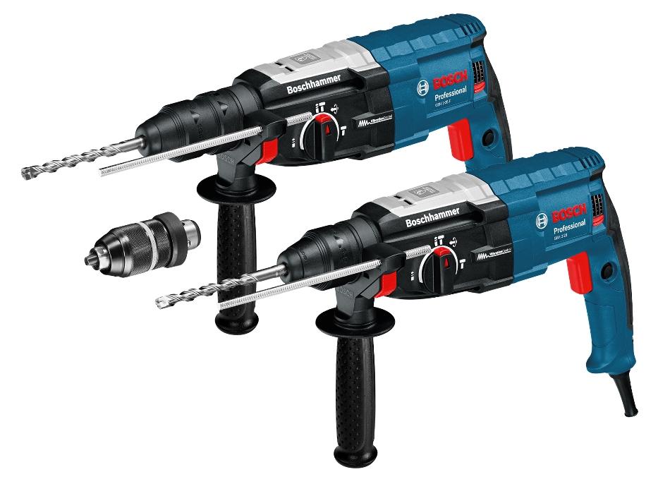 Еще больше мощности и еще выше контроль: четыре новых профессиональных перфоратора Bosch